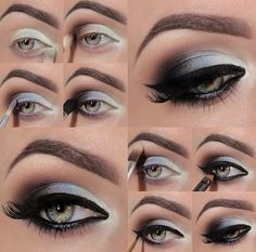 SMOKEY EYES MAKEUP TUTORIAL FOR BEGINNERS | makeup for beginners