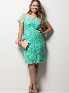 Vestido Renda. :: Luhfi