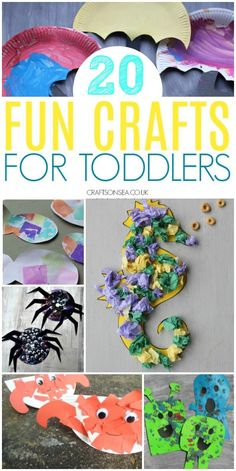 fun crafts for toddl fun crafts for toddlers Easy Toddler Crafts, Toddler Fun, Toddler Preschool, Toddler Teacher, Fun Activities For Toddlers, Craft Activities, Preschool Crafts, Nursery Activities, Daycare Crafts
