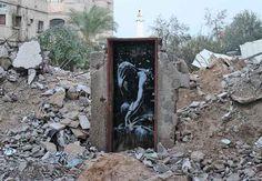 Banksy (2015) - Gaza (Palestina)                                                                                                                                                     More