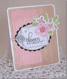 Card by Maureen Plut using Verve Stamps.