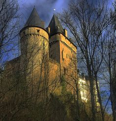 Hollenfels Castle (French: Château de Hollenfels), with a history dating back to the 11th century, is one of the castles located close to the River Eisch in the Valley of the Seven Castles in central Luxembourg.