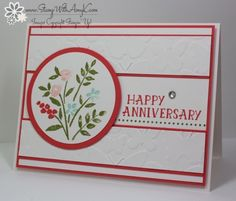 Stampin' Up! Number of Years Anniversary Card