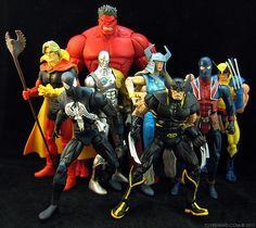 Marvel Legends Red Hulk Series