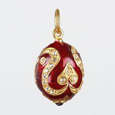 Mini Faberge Egg Pendant
