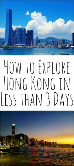 How to Explore Hong Kong in Less Than 3 Days Being in Hong Kong is like being in the NYC of Asia. China Travel, Japan Travel, Hong Kong Travel Tips, Discover Hong Kong, Asia Continent, Travel Checklist, Bhutan, Travel Guides, Travel Info