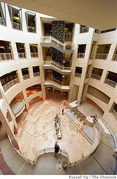 I love my city library. It's so beautiful!  Atrium of the San Francisco Public Library