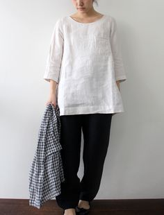 Linen Tunic Tops, Linen Shirts, Linen Pants, Super Linen, Shop Hella, Hella Lisette, Lisette Tops, Envelope Online, Linen Tunic Pattern Sewing