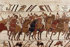 We Need To Talk About The 93 Penises On The Bayeux Tapestry – F Yeah History Anglo Saxon Chronicle, Anglo Saxon Kings, English Army, English Heritage, Loki, Saxon Chronicles, Duke William, Norman Conquest, Comics