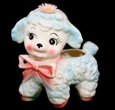 Vintage Baby Shower Planter 1950's Mint Rubens by gifthorsevintage, $129.00