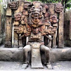 Dios de la Muerte, Museo de Antropología, México, D.F.