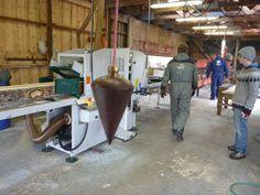 Drei-Mann-Sägewerksindustrie in Island