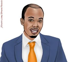 Businessman Wearing a Navy Blue Suit - An art piece inspired by the 2nd order from Cadiwill in I will hand draw cartoon avatar from your photo gig on Fiverr.com/DrawTweets #Businessman #NavyBlueSuit #Caricature #Art #Drawing Cartoon Drawings, Art Drawings, Navy Blue Suit, Caricature, Your Photos, Avatar, How To Draw Hands, Art Pieces, Handsome