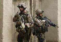 German Military - Bundeswehr on patrol in Afghanistan