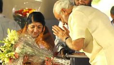 """Prime Minister Narendra Modi on Wednesday wished one of the best-known and most respected playback singers in India, Lata Mangeshkar, on her 87th birthday. """"Spoke to Lata (Mangeshkar) Didi and conveyed birthday greetings to her. I pray for her long and healthy life,"""" Modi tweeted. Twitter was flooded with birthday messages for the melody queen. … Continue reading """"Modi Wishes Lata Mangeshkar On 87th Birthday"""""""