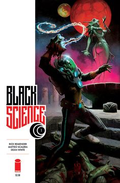Black Science #1B  by Matteo Scalera