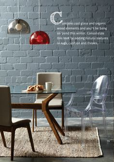 Dinning Chairs in all designs - Shadow & Light Range