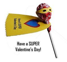 I wish my son still exchanged valentines!