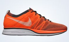 quality design 746e3 0aae9 nike flyknit trainer total orange barely orange dark grey Nike FlyKnit  Trainer+ Release Date Nike Flyknit