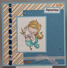 Tinas kreative Seite: Aquarius