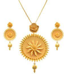 Buy Gold  pendant Pendant online