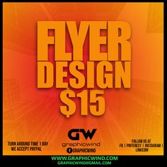 For high-quality Flyer designs Contact us at web: www.graphicwind.com or please email us to graphicwind@gmail.com Flyer Design, Logo Design, Graphic Design, Web Technology, Creative Design, Shirt Designs, Visual Communication