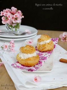 Epices & moi Choux ricotta cannelle 1 Ricotta, Panna Cotta, Cheesecake, Ethnic Recipes, Desserts, Food, Cream, Souvenir, Sicily