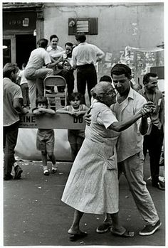 U.S. Dancing in E. 3 street, NYC, 1960/70s // James Jowers