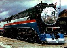 American Freedom Train ~ I got to tour on that when it came through town when I was young...it was awesome~