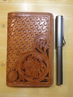 Field notes leather cover by questkit on Etsy, $89.00