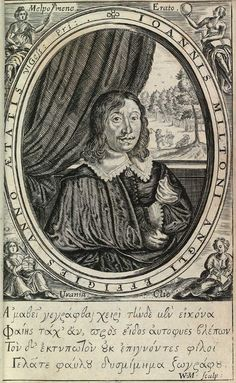 John Milton, from Poems of Mr John Milton, Both English and Latin, Shakespeare Portrait, Ludlow Castle, First Folio, Image Theme, Boston Public Library, Media Images, Have A Laugh, Make A Donation, Contemporary Artists