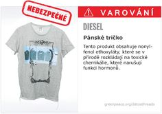 Greenpeace exists because this fragile earth deserves a voice. It needs change. Diesel T Shirts, Social Environment, Herren T Shirt, Detox, Mens Tops, Clothes, Women, Style, Catwalk