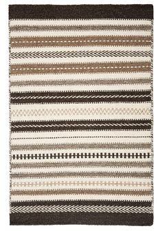 Hook & Loom -- Icelandic Natural Wool Woven Rug
