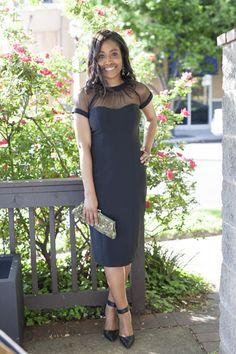 Little black dress from @marshalls