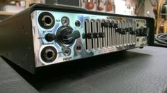 Ashdown Retroglide 800, 800W 12-band graphic digital Bass Amp.  The  Retroglide adds to the Ashdown Custom Shop offering, Hand built in the  UK, taking things back to the 80's in style and features.  Ashdown has worked with a number of FUNK  Masters over the past 30 + years of making bass amps, the desire to  create an amplifier which meets the requirements for absolute fidelity,  clarity, precision tone shaping and masses of power for stunning  dynamics continues to this day. ... Back To The 80's, Bass Amps, 30 Years, About Uk, Masters, Clarity, Number, Band, Digital