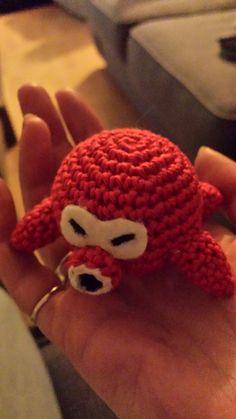 Octorok from The Legend of Zelda - Free Amigurumi Pattern here: http://crochetnanigans.wordpress.com/2014/03/16/the-legend-of-zelda-octorok-pattern/