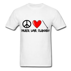 clarinet t-shirts - Google Search