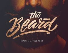 """Check out new work on my @Behance portfolio: """"Hipsteria Style Font - The Beard"""" http://be.net/gallery/42096221/Hipsteria-Style-Font-The-Beard"""