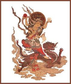 Amenotokotachi- Japanese myth: a primordial God born from the separation of heaven and Earth. Japanese Mythology, Buddhist Art, Japanese Design, Heaven On Earth, Folklore, Buddhism, Rooster, Steampunk, Statue