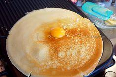 Κρέπες Γαλλικές Αλμυρές & Γλυκές-DIY French Crepes, Savory Crepes, Pancakes, Breakfast, Sweet, Food, Morning Coffee, Candy, Essen
