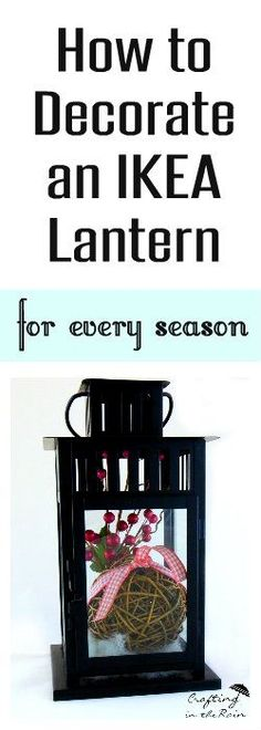 Decorating with Lanterns                                                                                                                                                                                 More
