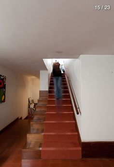 Siza Vieira | Casa Alves Santos | HIC Arquitectura Arch, Stairs, Houses, Home Decor, Saints, Scallops, Architects, Homes, Longbow