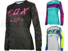 Fox Racing Youth Girl's 180 Race Pink Purple Motocross Riding Jersey ATV MX '17