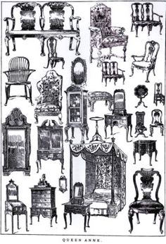 Chapter 10 Stick Style/Queen Anne: Queen Anne furniture