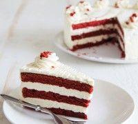 Red Velvet Cake met Cream Cheese Glazuur - Taart - Recepten | Deleukstetaartenshop.nl