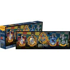 Collectables - Harry Potter Crests 1000pc Slim Puzzle