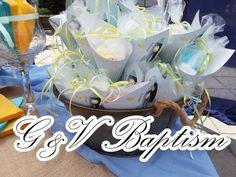G & V Wedding Μπομπονιέρες Βάπτισης Θεσσαλονίκη www.gamosorganosi.gr Cake, Desserts, Food, Tailgate Desserts, Deserts, Kuchen, Essen, Postres, Meals