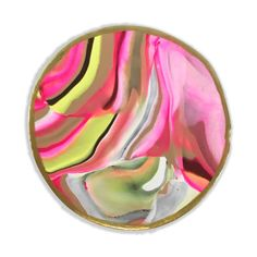 Marbled Clay Coaster