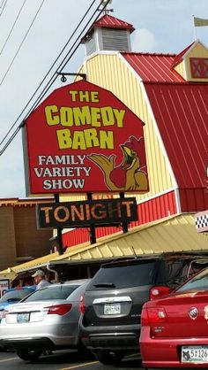 Comedy Barn Pigeon Forge, Tennessee - Favorite Show for my Husband and I