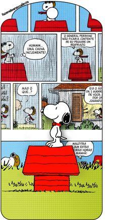 Tag Agradecimento Snoopy: